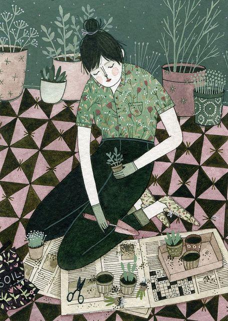 Yelena Bryksenkova Green Thumb