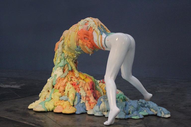artist rook floro_voluptous sculpture