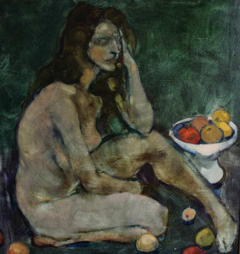 Close View_Nude with Apples  by Igor Krapar Scherbakov.jpg