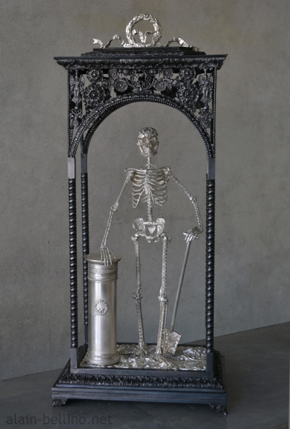 Memento mori-by-alain-bellino-french-sculptor