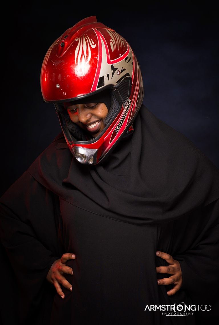 Portrait of Woman with Helmet Portrait from the Somali refugee women series by Armstrong Too Photographer.jpg