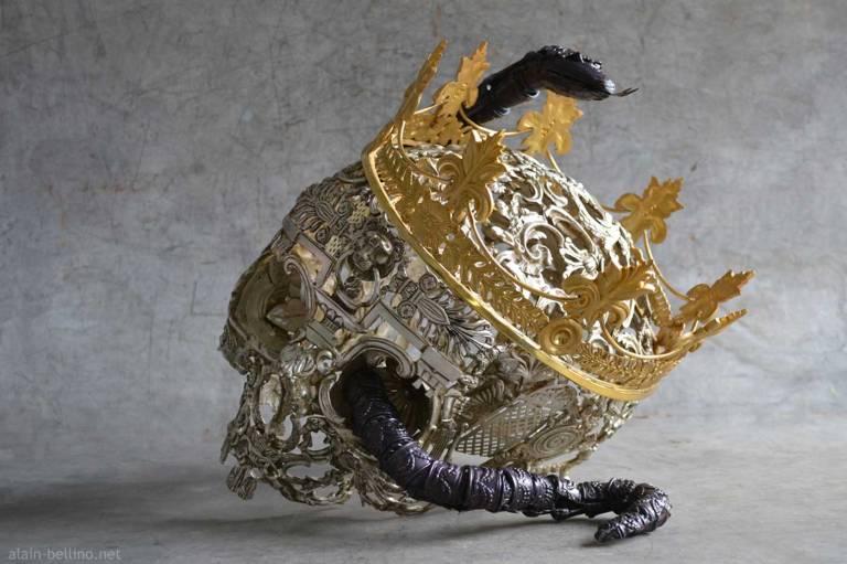 vanite-bucrane_by-alain-bellino-sculptor-france