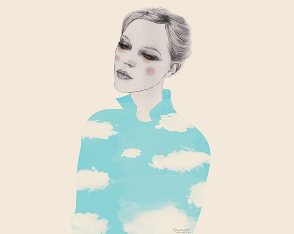 Roberta Zeta Cloudy Mood