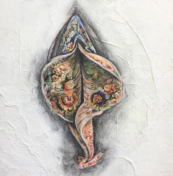 feminist art, vagina-art, botanical art,