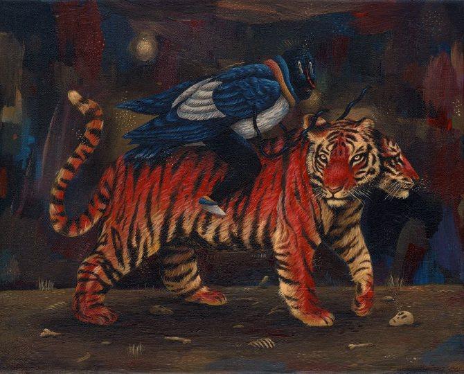 Romanian Artist Saddo Painting 2013-14
