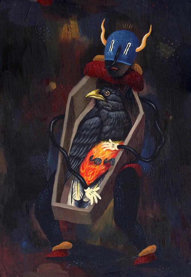 Romanian Artist Saddo Painting 2013-2014