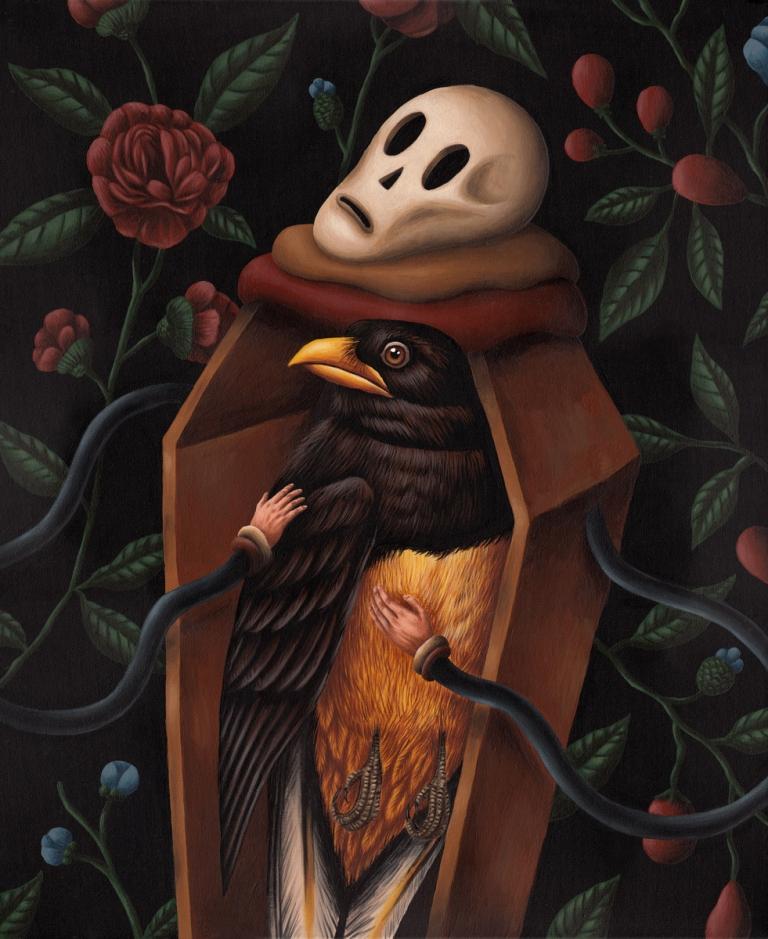 Saddo Romanian Artist Coffin Series