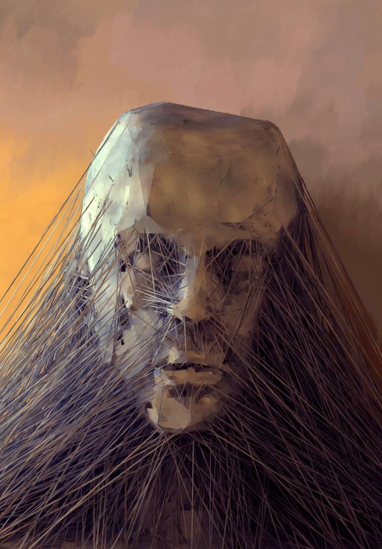 3d-modeling, espen kluge. digital art, contemporary art, modern art, new art, art, surrealism, futuristic, gothic, haunting, strange art